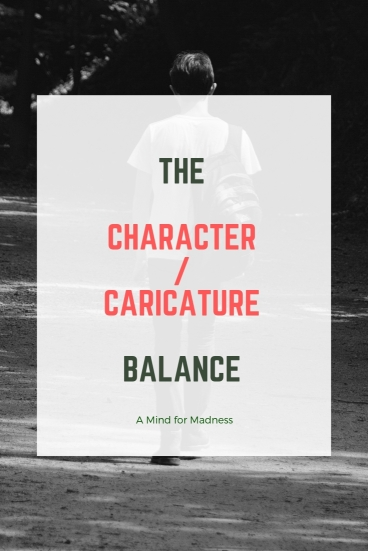 the character caricature balance