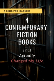 4 Contemporary Fiction Books