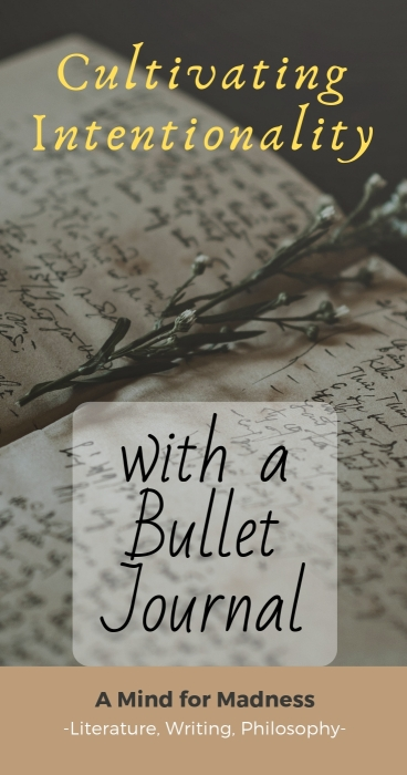 bullet journal how to cultivate intentionality